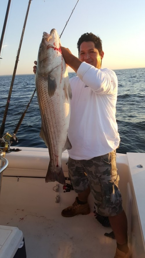 Big bass caught past week for Port jeff fishing