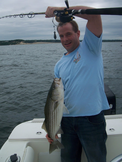 Striped bass 19 for Port jefferson fishing